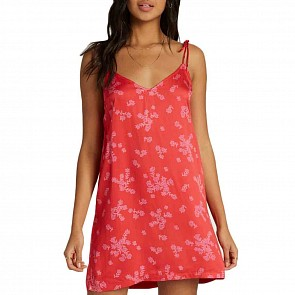 Billabong Women's Night On The Run Dress - Fuego