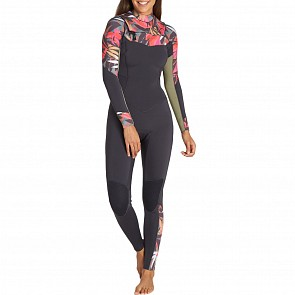 Billabong Women's Salty Dayz 3/2 Chest Zip Wetsuit - Tropical