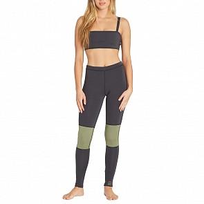 Billabong Women's Sea Legs 1mm Surf Leggings - Black Olive