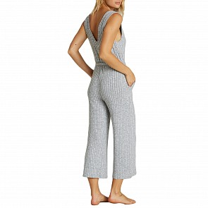 Billabong Women's Wipe Out Jumpsuit - Ash Heather