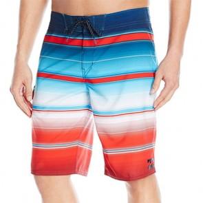 Billabong All Day X Stripe Boardshorts - Red