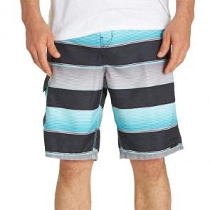 Billabong All Day OG Stripe Boardshorts - Mint