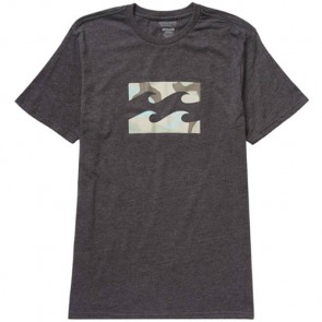 Billabong Team Wave T-Shirt - Black Heather