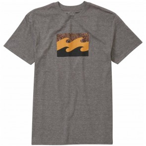 Billabong Team Wave T-Shirt - Dark Grey Heather
