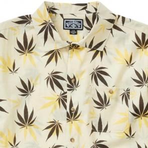 Billabong Mull Leaf Short Sleeve Shirt - Rock