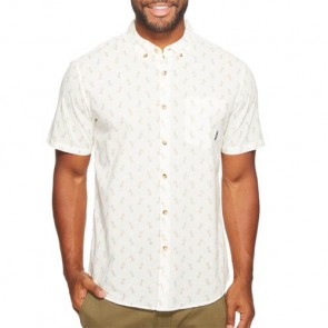Billabong Jetson Short Sleeve Shirt - Off White