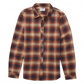 Billabong Coastline Long Sleeve Plaid Flannel - Hazel