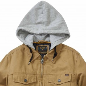 Billabong Barlow Hooded Twill Jacket - Gum