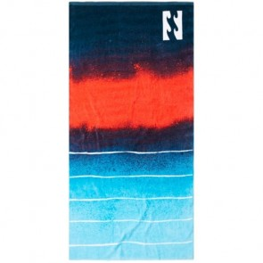 Billabong Waves Towel - Navy/Red