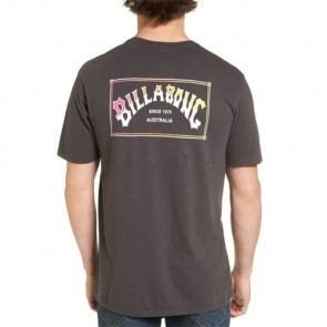 Billabong Boxed Arch T-Shirt - Charcoal