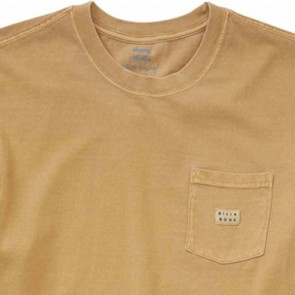 Billabong Die Cut Pocket T-Shirt - Gold
