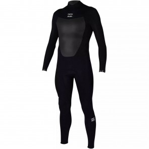 Billabong Absolute 3/2 Flatlock Back Zip Wetsuit - Black