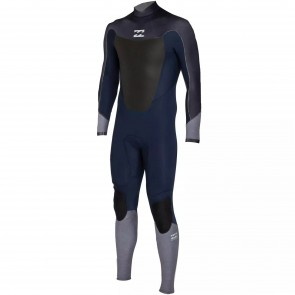 Billabong Absolute Comp 4/3 Back Zip Wetsuit - Ink
