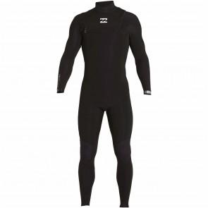Billabong Furnace Carbon Comp 3/2 Chest Zip Wetsuit - Black
