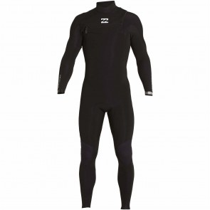 Billabong Furnace Carbon Comp 4/3 Chest Zip Wetsuit - Black