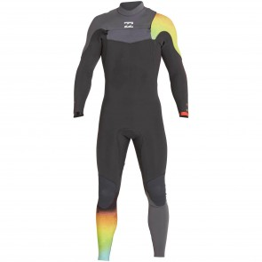 Billabong Furnace Carbon Comp 4/3 Chest Zip Wetsuit