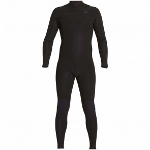 Billabong Revolution Tri Bong 3/2 Chest Zip Wetsuit - Black