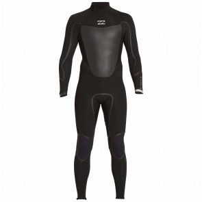 Billabong Absolute X 4/3 Back Zip Wetsuit - Black