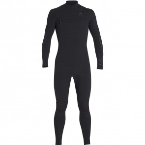 Billabong Furnace Carbon Comp 3/2 Chest Zip Wetsuit - Black