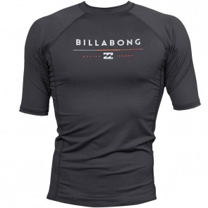 Billabong Wetsuits All Day Short Sleeve Rash Guard - Black