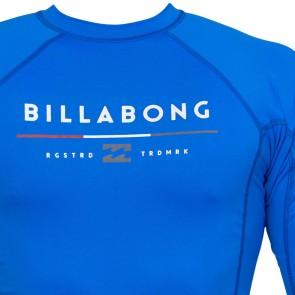 Billabong Wetsuits All Day Short Sleeve Rash Guard - Royal