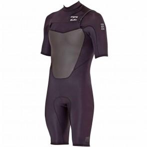 Billabong Foil 2mm Chest Zip Spring Suit - Black