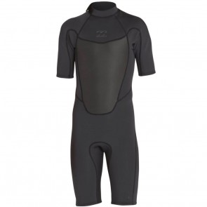 Billabong Absolute Comp 2mm Back Zip Spring Wetsuit - Black