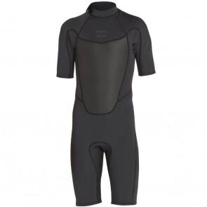 Billabong Absolute Comp 2mm Back Zip Spring Wetsuit - Black