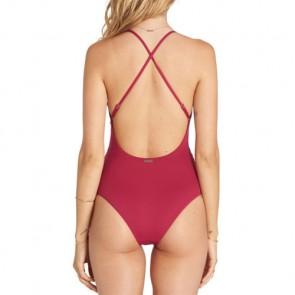 Billabong Women's Hippie Hooray One-Piece Swimsuit - Sangria