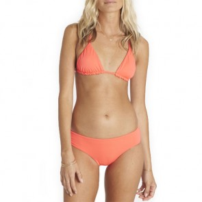 Billabong Women's Sol Searcher Triangle Two-Piece Swimsuit - Horizon Red