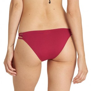 Billabong Women's Sol Searcher Strappy Two-Piece Swimsuit - Sangria