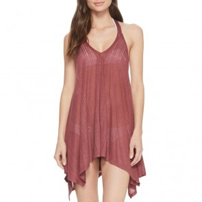 Billabong Women's Twisted View Coverup - Plum Berry