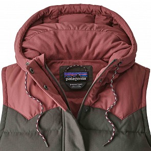 Patagonia Women's Bivy Down Hooded Vest - Forge Grey