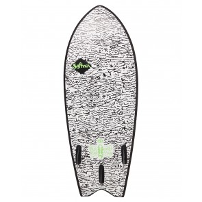 Softech Kyuss Fish 4'8 Soft Surfboard - White