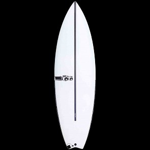 JS Black Box 3 HYFI Swallow Tail Surfboard - Deck
