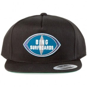 Bing Surfboards Patch Premium Twill Hat - Black