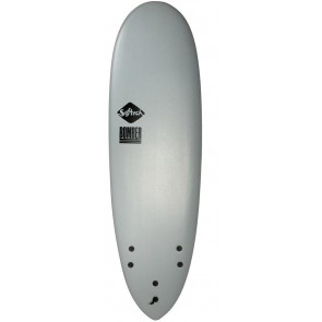 Softech Bomber 5'10 Soft Surfboard - Grey/Acid - Top