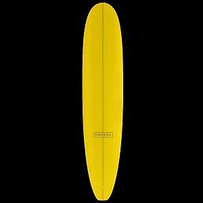 Modern The Boss Surfboard Yellow Tint - Deck