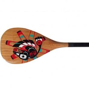 Boardworks Raven Carbon 2pc SUP Paddle - Wood Veneer