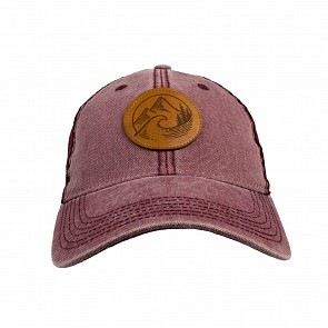Cleanline PNW Mesh Hat - Burgundy