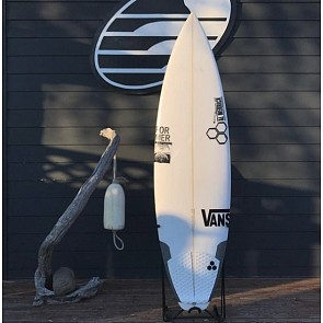 Channel Islands Black & White 6'0 x 19 x 2 1/2 Used Surfboard - Top