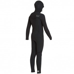 Billabong Youth Furnace Absolute 5/4 Hooded Chest Zip Wetsuit