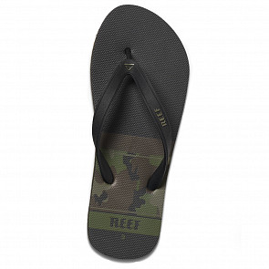 Reef Switchfoot Prints Sandals - Camoflauge - Top