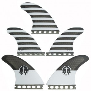 Captain Fin CF Large Futures Tri-Quad Fin Set