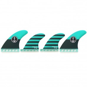 Captain Fin CF Medium Futures Quad Fin Set
