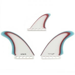 Captain Fin Tyler Warren Futures Twin + 1 Fin Set
