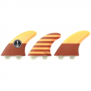 Captain Fin CF Large FCS Tri Fin Set