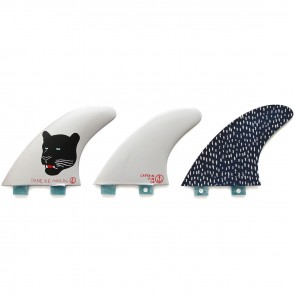 Captain Fin Dane Reynolds Large FCS Tri Fin Set