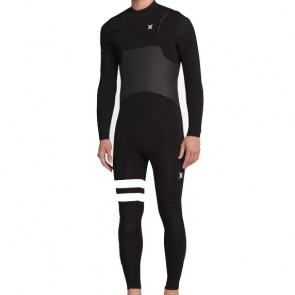 Hurley Advantage Plus 5/3 Chest Zip Wetsuit - Black