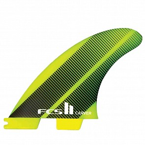 FCS II Carver Neo Glass Large Tri Fin Set - Acid Gradient